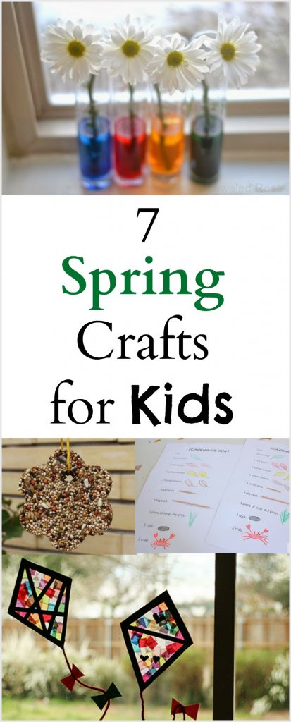 7 Spring crafts and activities for kids