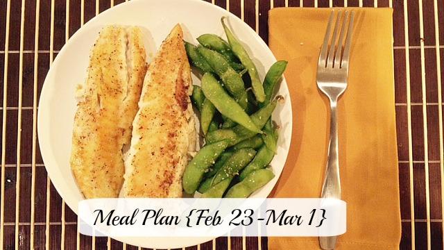 Meal plan feb 23