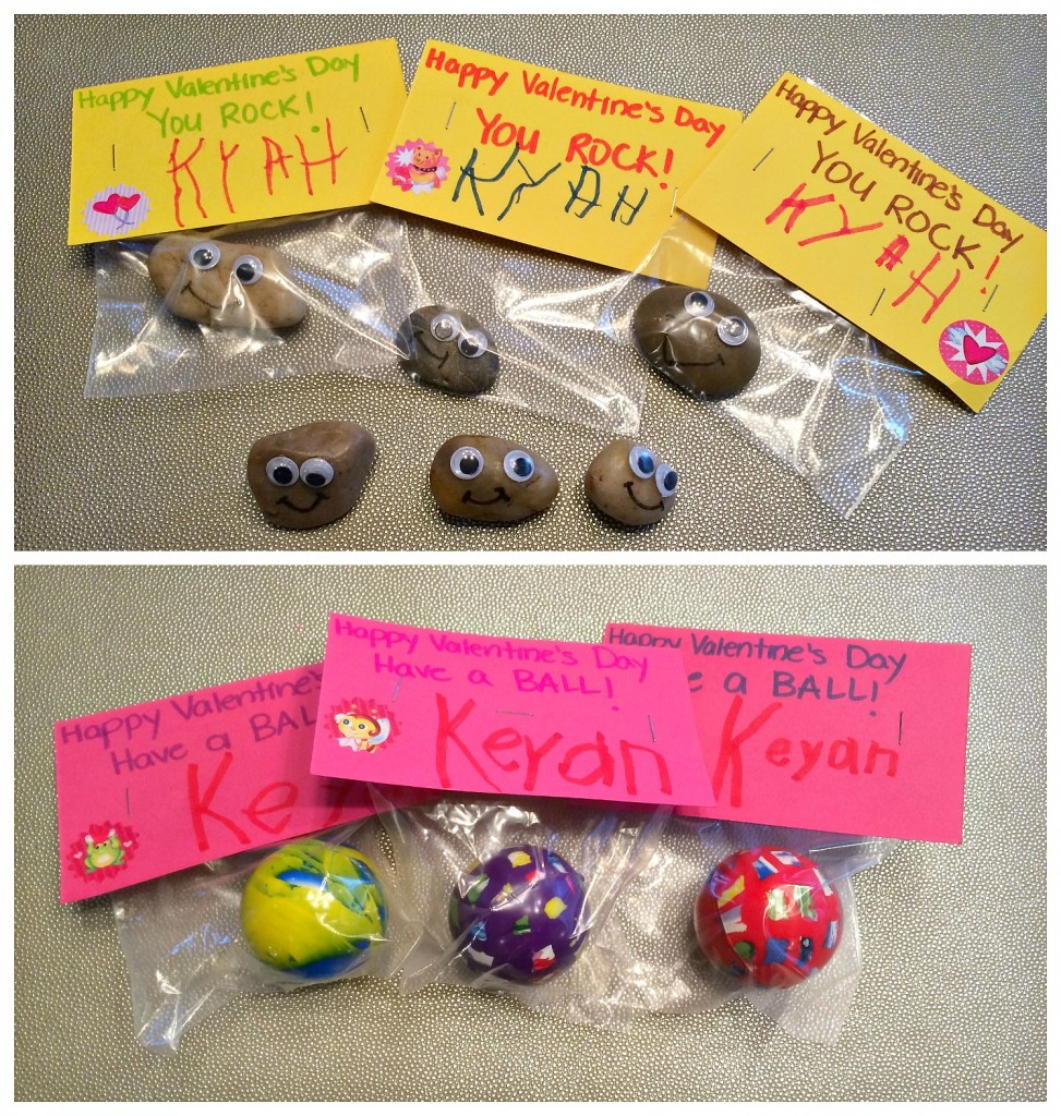 Pet Rock and Ball Valentine's