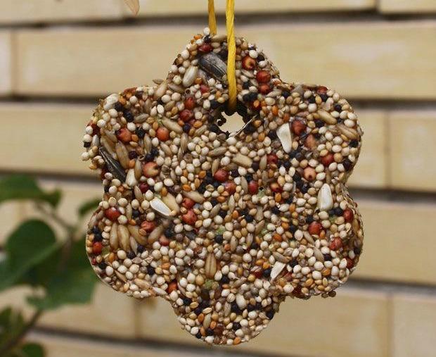 Spring Crafts and activities - bird feeder