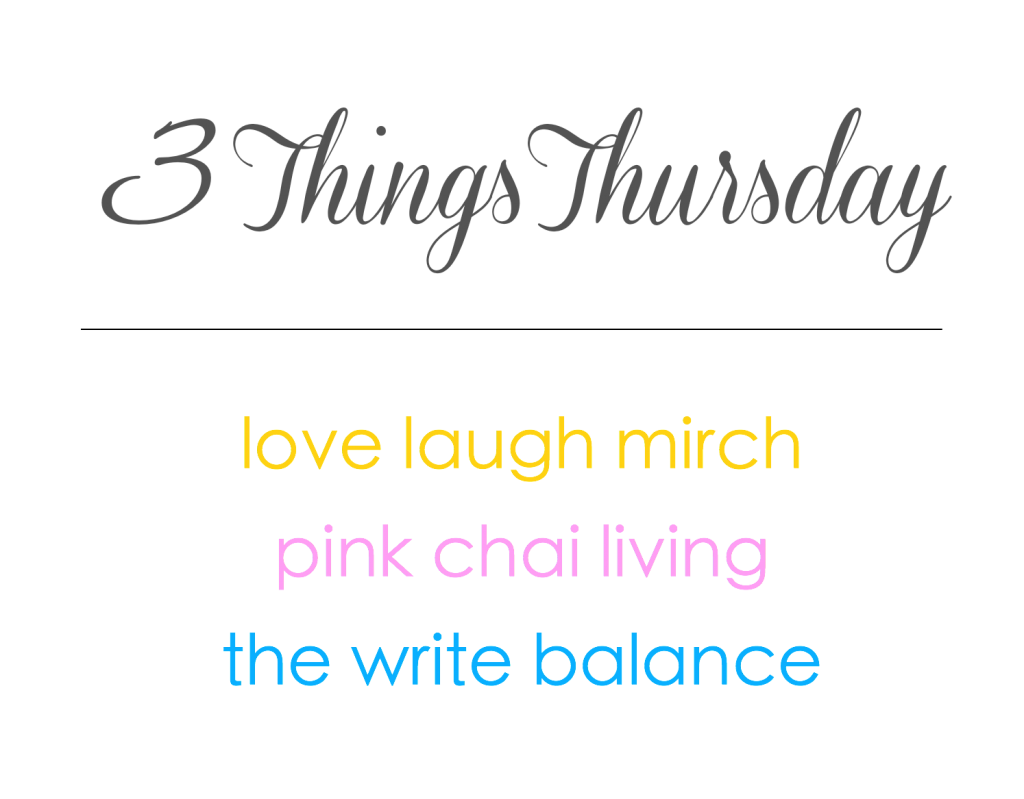 3 Things Thursday Badge