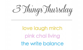 3 Things Thursday new badge