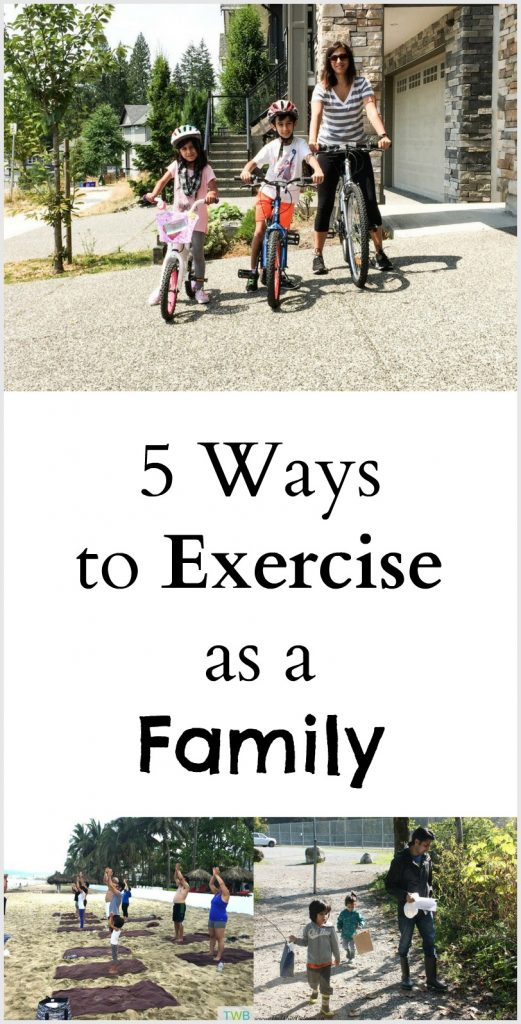 5 Ways to Exercise as a Family