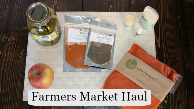Farmers Market Haul