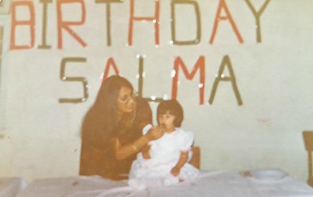Salma 1st birthday