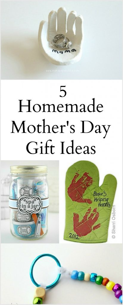 5 Homemade Mother's Day Gift Ideas