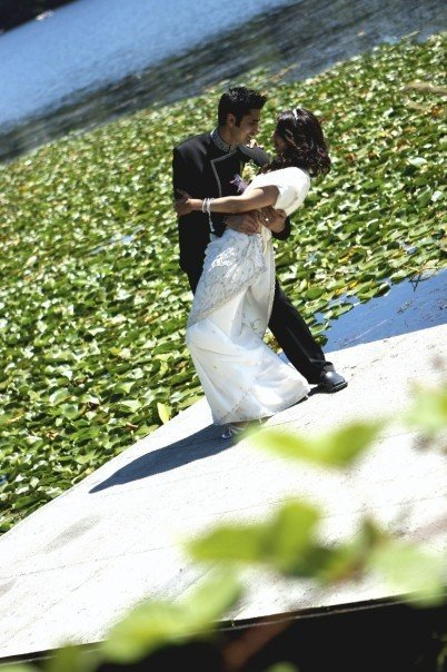 lily's wedding photo