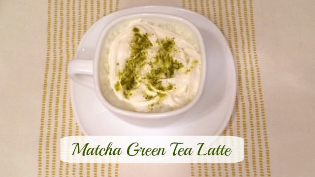 Matcha Green Tea Latte Featuare