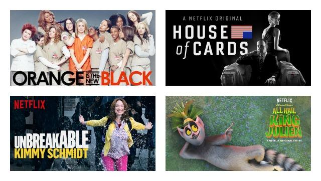 Netflix Original Series Feature