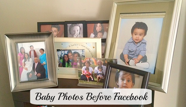 Photos before FB feature