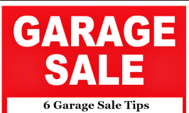 garage sale tips feature