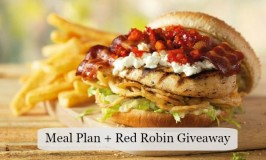 meal plan + red robin giveaway