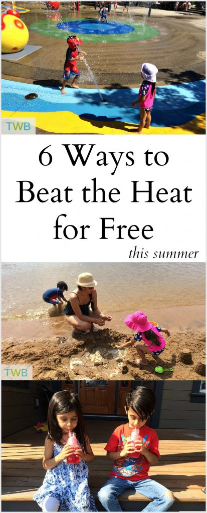 6 Ways to beat the heat for free