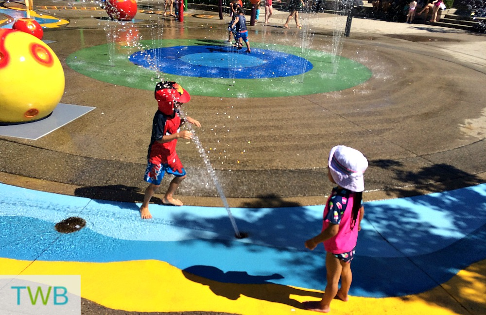 beat the heat - spray park