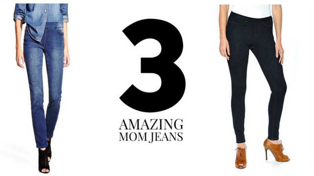 3AwesomeMom Jeans