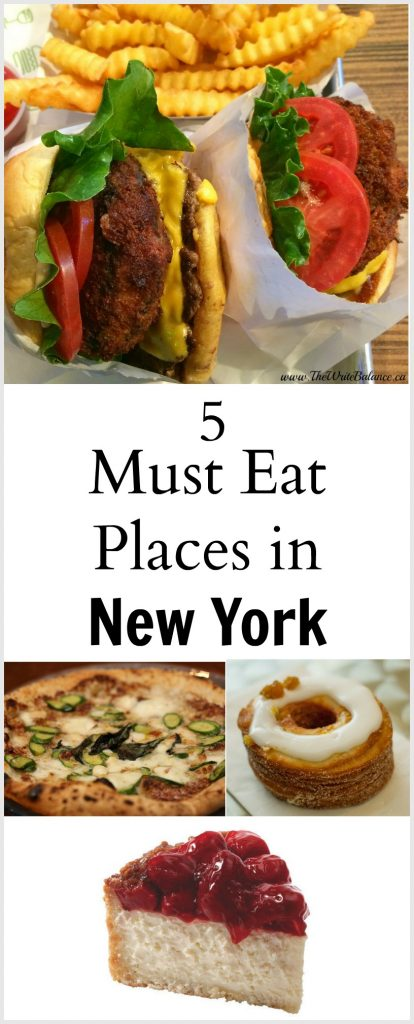 5 Must Eat Place in New York City