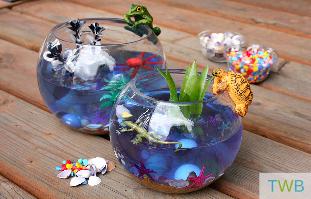 Easy Aquarium Craft - Aquarium finished
