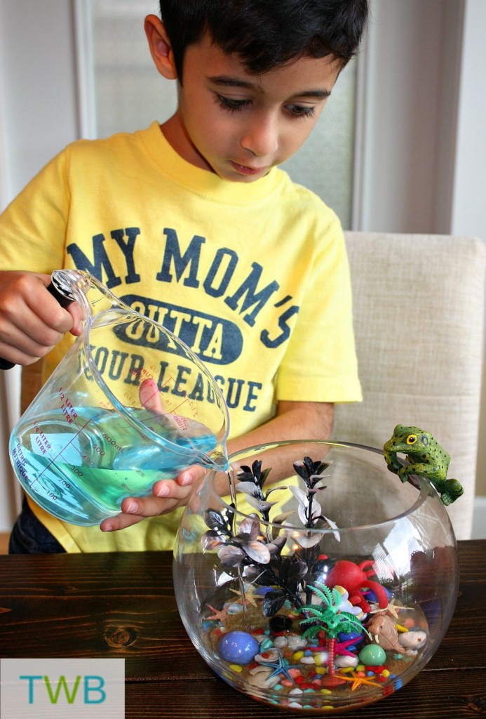Easy Aquarium Craft - Aquarium water