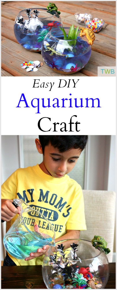 Easy Aquarium Craft For Kids