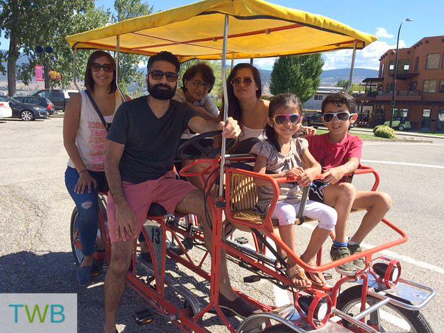 3TT Family Bike Ride in Penticton