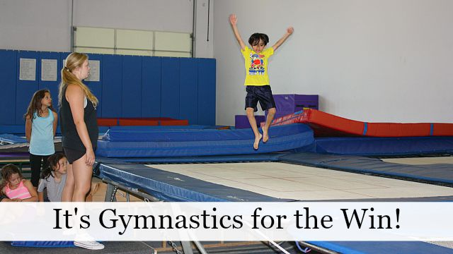 It's gymnastics for the win!