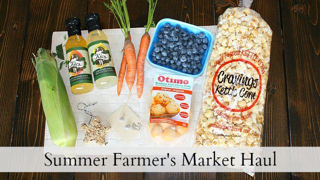 Summer Farmer's Market Haul