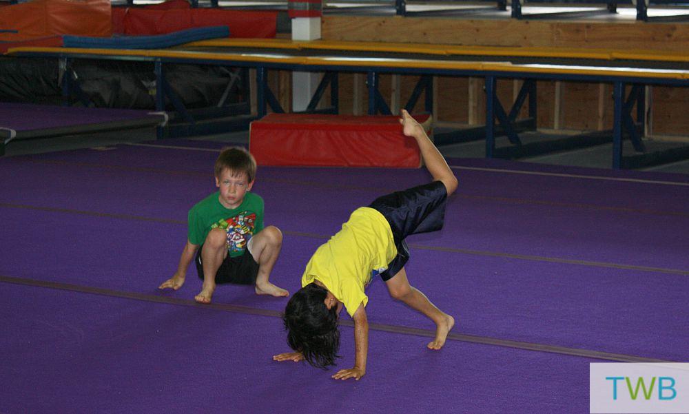 Tag Gymnastics 3