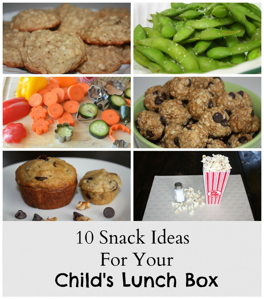 10 Snack Ideas For Your Child's Lunch Box