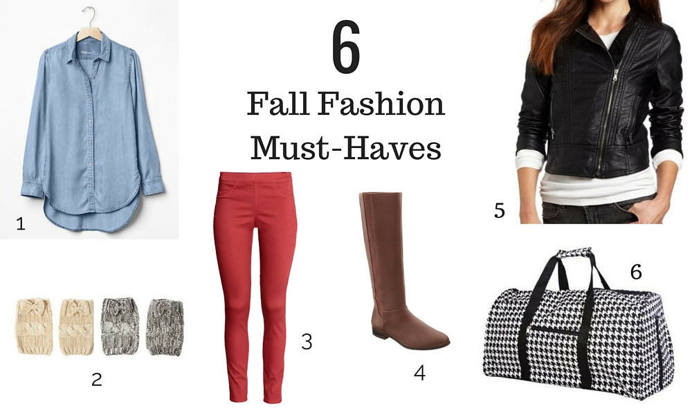 6 Fall Fashions for Moms