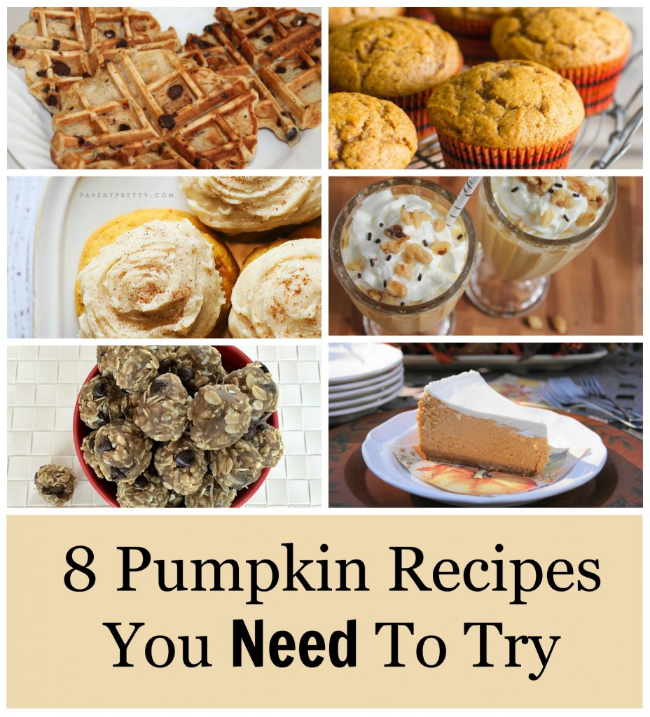 8 Pumpkin Recipes You NEED to Try 1