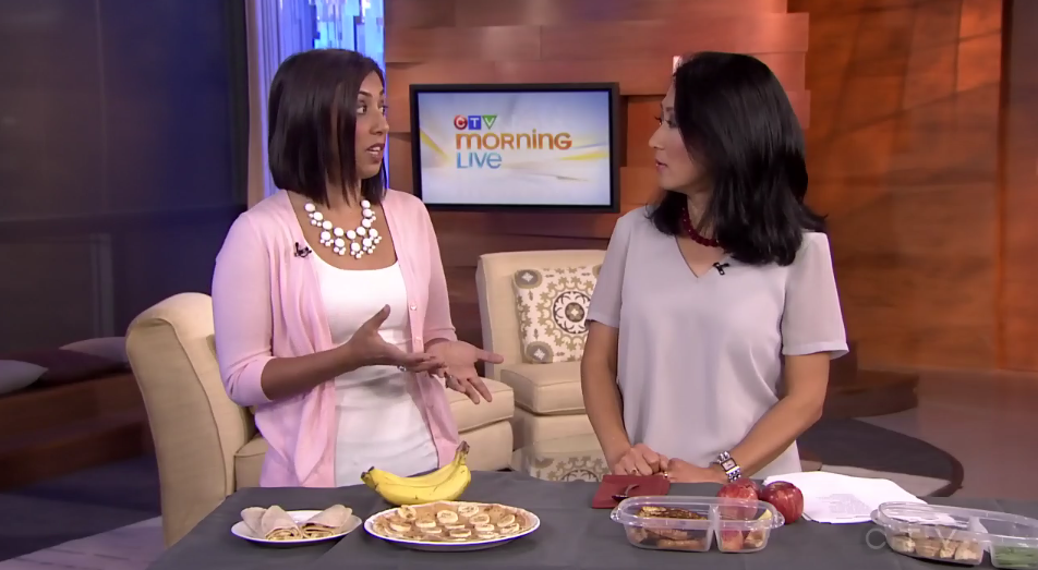 Photo Courtesy: CTV Morning Live (click on photo to see a video of the segment.)