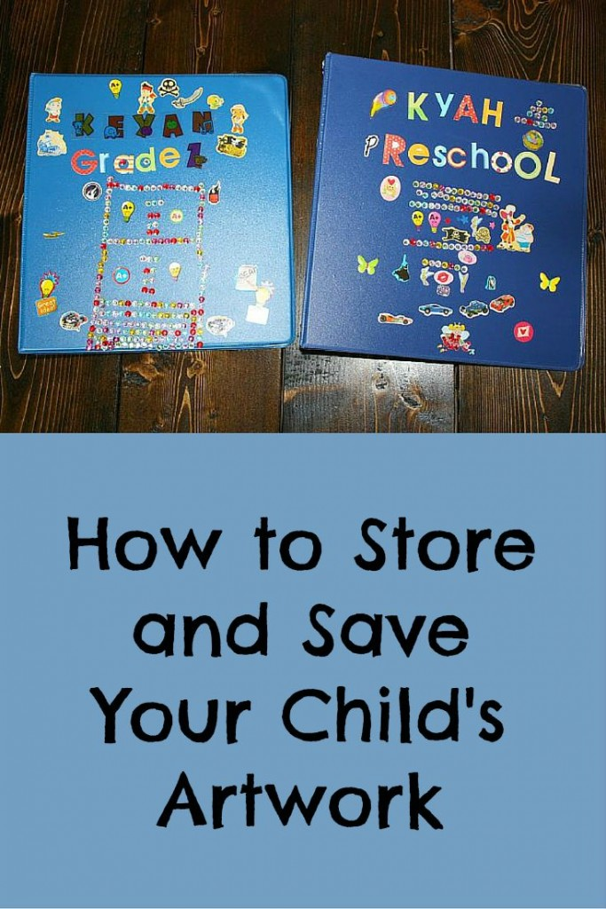 How to Preserve Your Children's Artwork