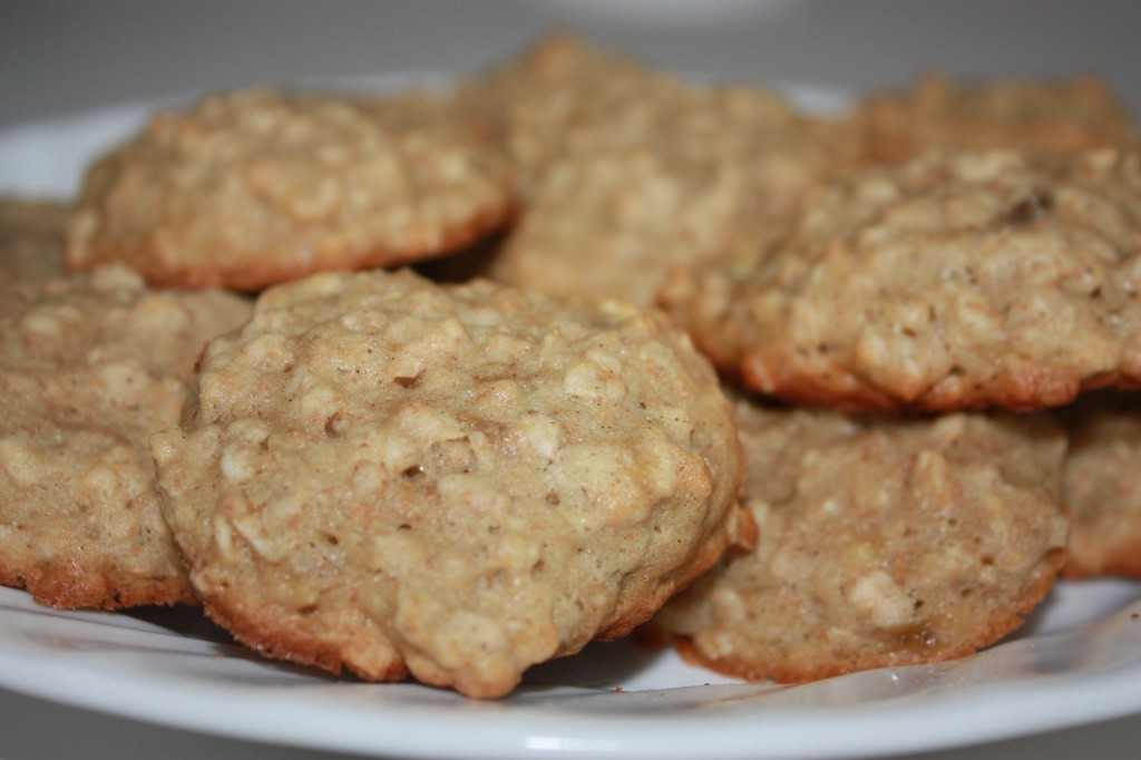 10 Snack Ideas for School Lunches - banana bread cookies