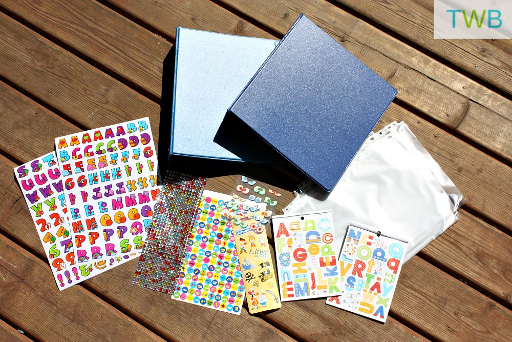 Preserving your child's artwork - supplies