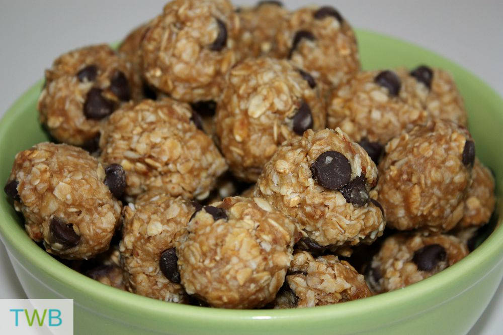 School Snack Ideas - Granola Balls