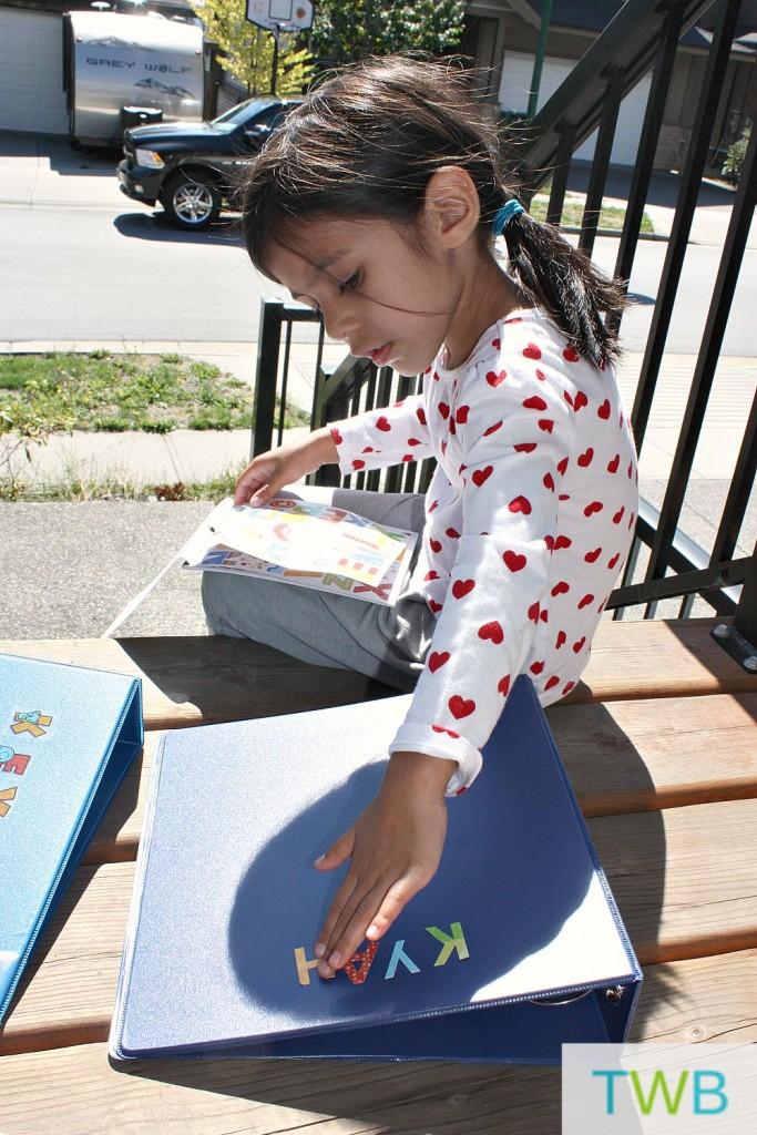 Storing your children's artwork