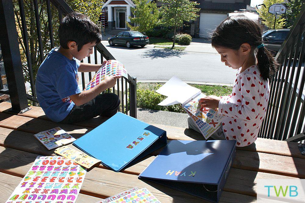 Storing your kid's artwork
