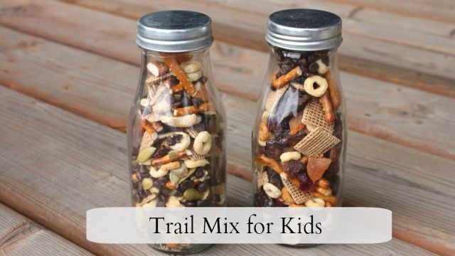 Trail Mix for Kids feature