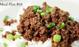 Weekly Meal Plan #68