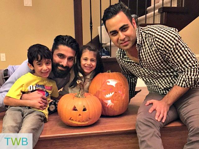 3TT finished pumpkin carving