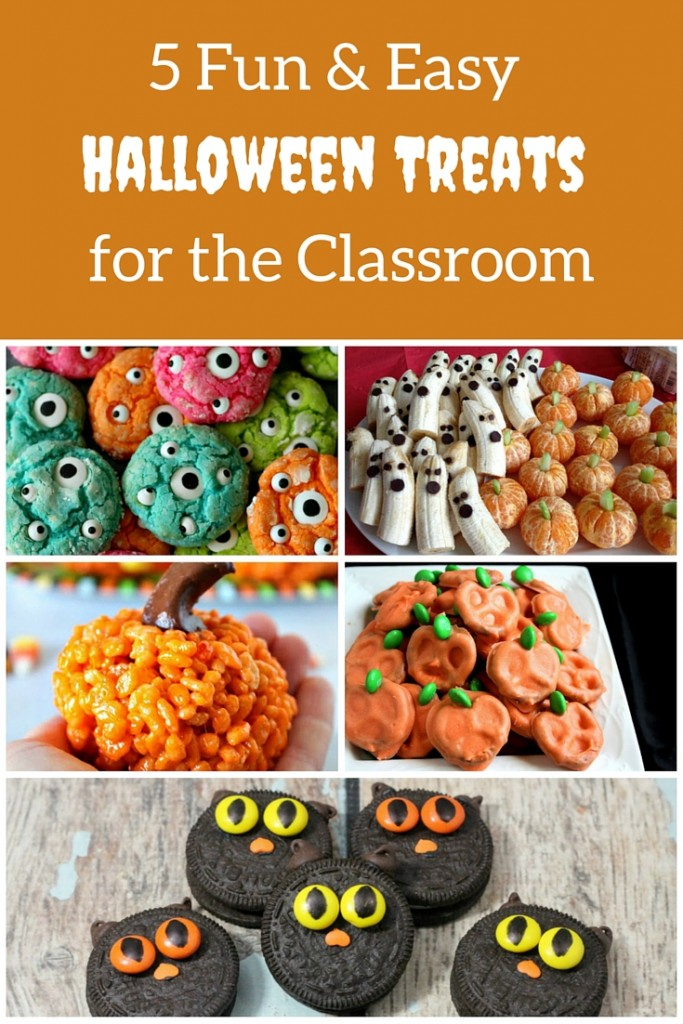5 Fun & Easy Halloween Treats
