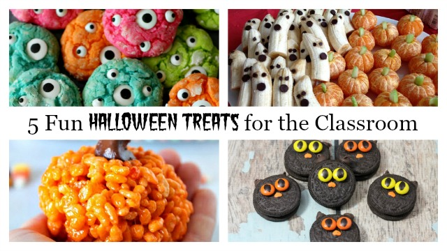 5 Fun & Easy Halloween Treats Feature