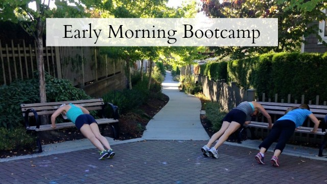 Early Morning Bootcamp Feature