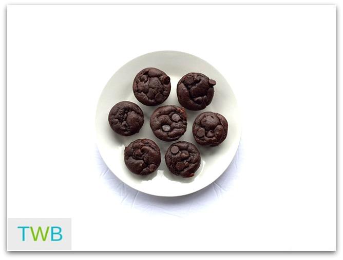 3TT Chocolate mini muffins