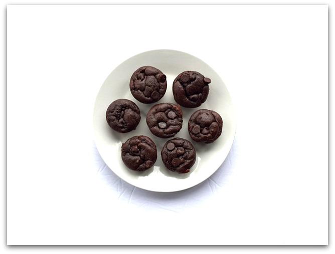 3TT Flourless Mini Muffins