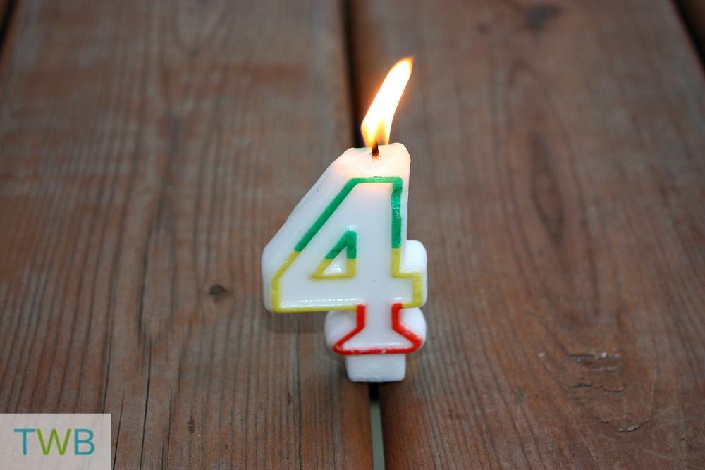4 Year Blogging Anniversary