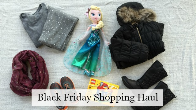 Black Friday Shopping Haul feature