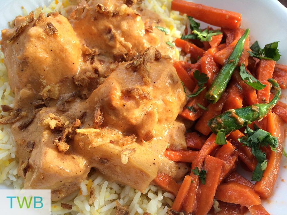 Chicken Biryani - Close up