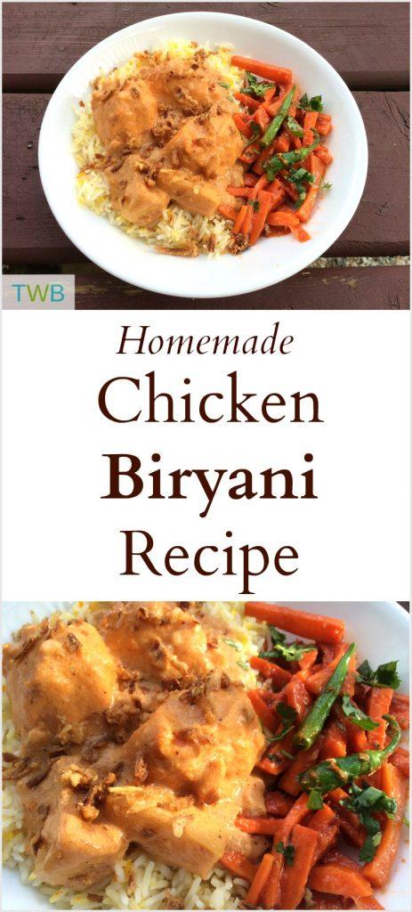 Homemade Chicken Biryani Recipe