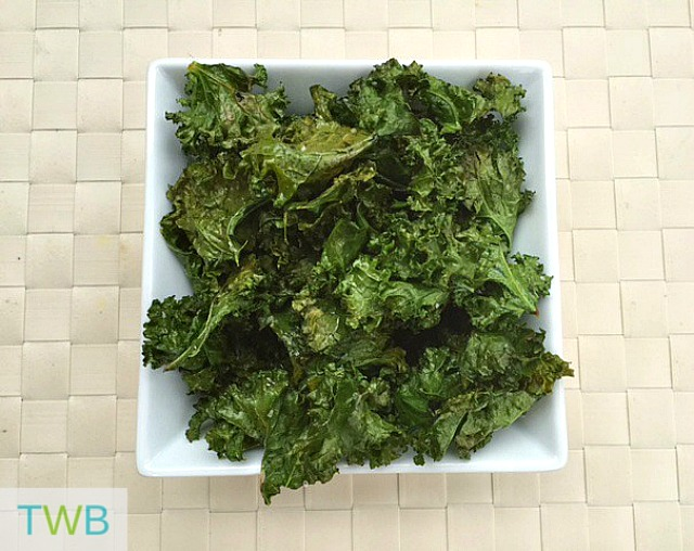 Kale Chips - finished
